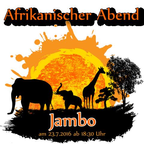Afrikanischer Abend im Hotel Graber